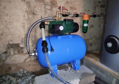 realizace vodoinstalace